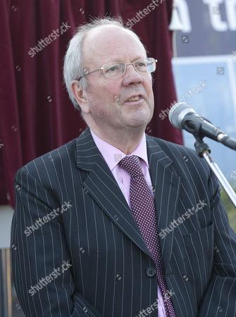 Editorial photo of Prime Minister David Cameron at Charlbury Station, Oxfordshire, Britain - 14 Oct 2011