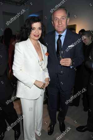 Bianca Jagger and Spas Roussev