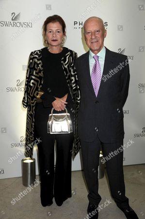 Elena Ochoa Foster and Norman Foster