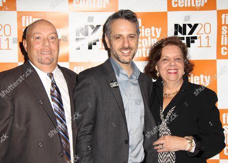 Stock Picture of Charles Russo, Jeffrey Schwarz, Phyllis Antonellis