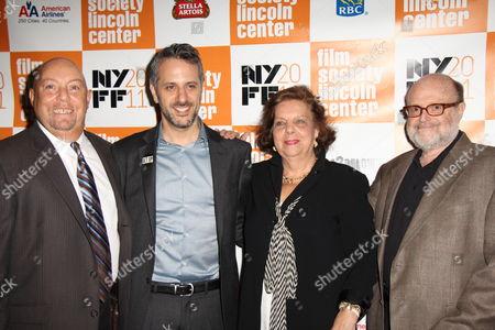 Charles Russo, Jeffrey Schwarz, Phyllis Antonellis, Arnie Kantro