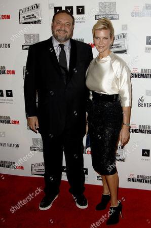 Joel Silver and wife Karyn Fields