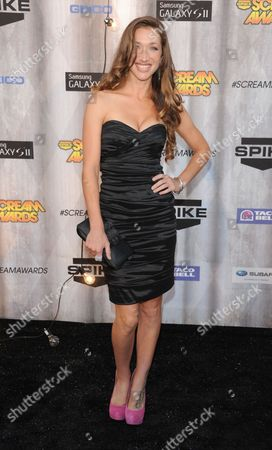 Editorial photo of Spike TV Scream 2011 Awards, Los Angeles, America - 15 Oct 2011