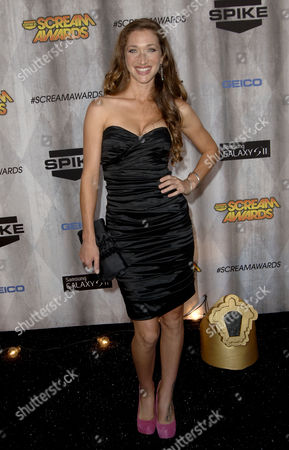 Editorial image of Spike TV Scream 2011 Awards, Los Angeles, America - 15 Oct 2011