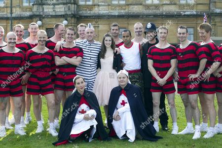 Editorial image of Heroes at Highclere, Highclere Castle, Newbury, Berkshire, Britain - 16 Oct 2011