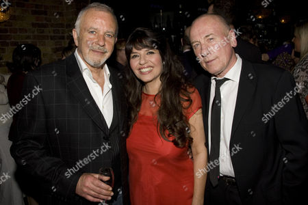 David Essex (Author/Levi Lee), Louise English (Rosa) and Christopher Timothy (Harvey)