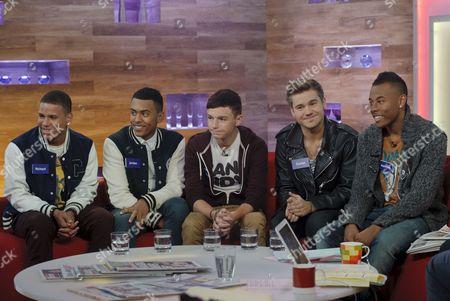 Editorial photo of 'Daybreak' TV Programme, London, Britain - 17 Oct 2011