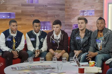 Nu Vibe - Richard, Jordan, Bradley, Stefan and Ashford