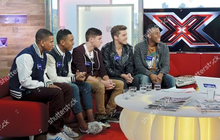 Stock Photo of Nu Vibe - Richard, Jordan, Bradley, Stefan and Ashford