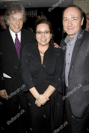 Tom Stoppard (Author), Anna Mackmin (Director) and Kevin Spacey (Artistic Director)