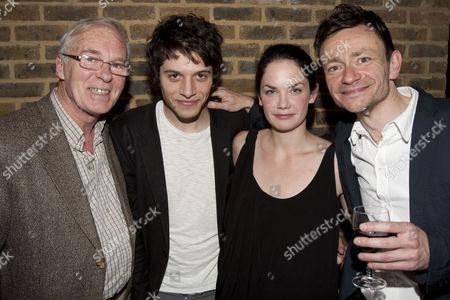 Ian McElhinney (David), Dimitri Leonidas (Max), Ruth Wilson (Karin) and Justin Salinger (Martin)