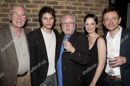 Ian McElhinney (David), Dimitri Leonidas (Max), Michael Attenborough (Director), Ruth Wilson (Karin) and Justin Salinger (Martin)