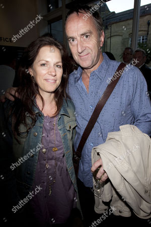 Lise Mayer and Angus Deayton