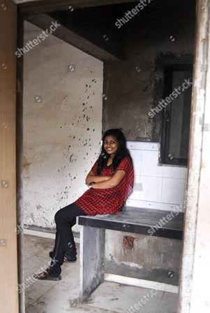 Editorial image of 'Slumdog Millionaire' child star Rubina Ali in her new home, Mumbai, India - 15 Oct 2011