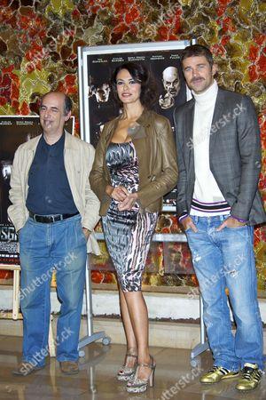 Maria Grazia Cucinotta, Director Enric Alberich and Fabio Fulco