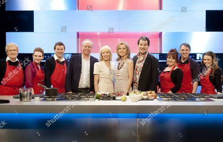 John Burton Race, Jilly Goolden, Mary Nightingale and Ed Bains