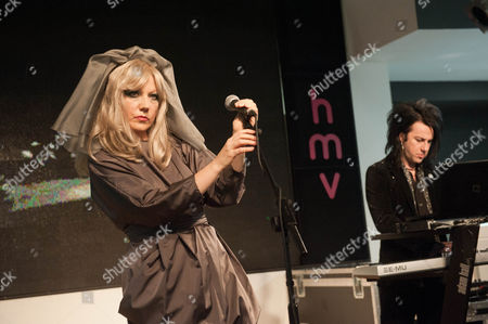 Editorial photo of The Opiates perform at HMV Oxford Street, London, Britain - 17 Oct 2011