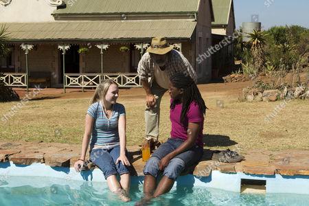 Olivia Scott-Taylor as Olivia Adams and Atandwa Kani as Thabo.