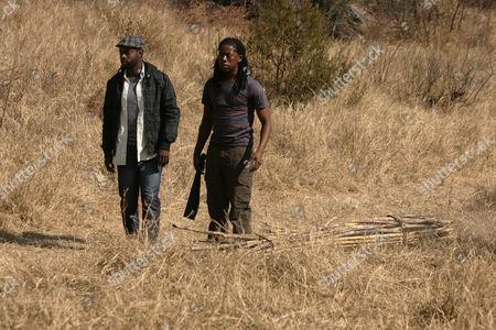 Anthony Oseyemi as Lungile and Atandwa Kani as Thabo.