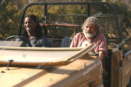 Atandwa Kani as Thabo and Deon Stewardson as Du Plessis.