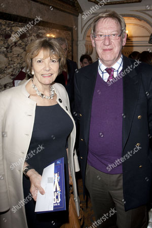 Stock Photo of Joan Bakewell and Laurence Marks