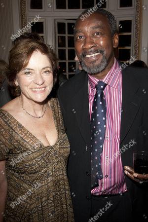 Diana Quick and Joseph Mydell
