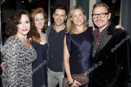 Harriet Thorpe, Clare Foster, Kim Medcalf and Michael McKell