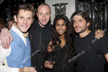 Samuel Holmes, David Langham, Meryl Fernandes and Marc Elliott