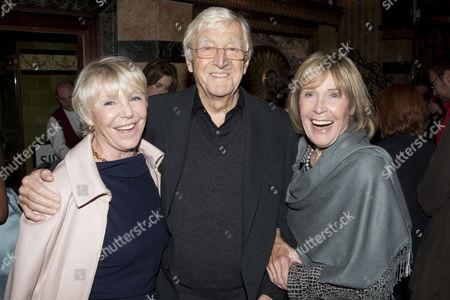 Geraldine Lynton Edwards, Sir Michael Parkinson and Mary Parkinson