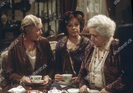 Dorothy Tutin as Sarah Burton and Hermione Baddeley as Mrs Beddows