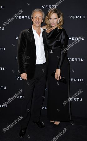Perry Oosting and Uma Thurman