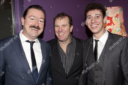 Daniel Ryan (Hudson), Douglas Hodge (Bill Maitland) and Alex Weaver (Jones)
