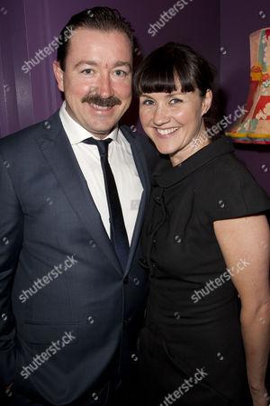 Daniel Ryan (Hudson) and Esther Hall (Liz)