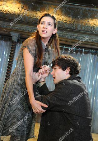 Hara Yannas as Junia, Alex Vlahos as Britannicus