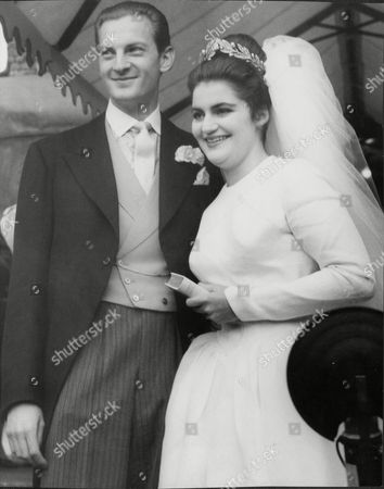 Wedding Of Daphne Fairbanks To Mr David Weston. Daphne Is The Daughter Of Actor Douglas Fairbanks Jnr.