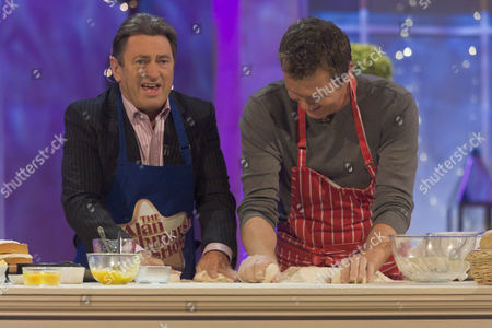 Stock Photo of Cookery item - Alan Titchmarsh and Arthur Potts Dawson