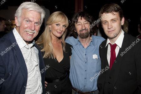 Dave Willetts (Sir George Dillingham), Katherine Kingsley (Rose Vibert), Sir Trevor Nunn (Director) and Michael Arden (Alex Dillingham)