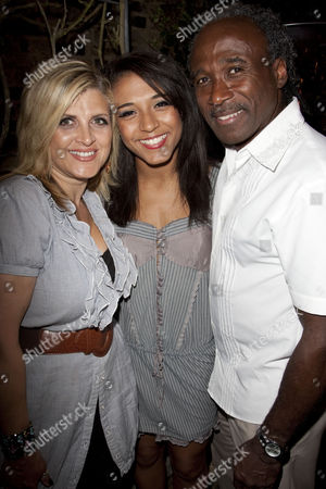 Stock Photo of Dee Fearon, Stephanie Fearon and Phil Fearon
