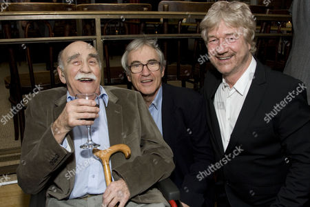 Warren Mitchell, Larry Lamb and Willy Russell