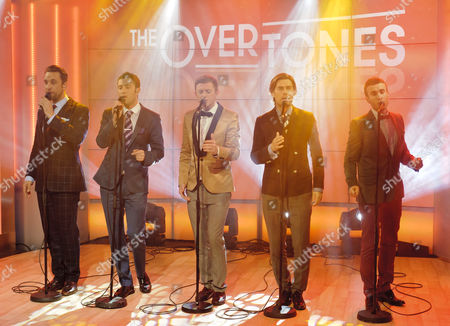 The Overtones - Lachie Chapman, Mark Franks, Tim Matley , Mike Crawshaw and Darren Everest