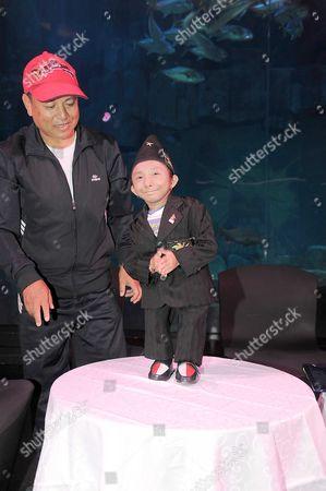 Stock Photo of Khagendra Thapa Magar, world's shortest man