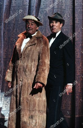 Queen Mother's Tribute Show at the London Palladium - Bernie Winters and Leslie Crowther - 1989