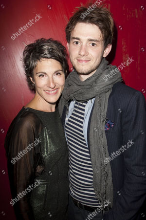 Tamsin Greig (Hilary) and Michael Marcus (Cam)