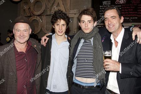 Stock Photo of Ewan Stewart (Mark), James Musgrave (Josh), Michael Marcus (Cam) and Richard Lintern (Roland)