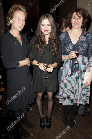 Helen Schlesinger, Bel Powley (Tilly) and April De Angelis (Author)