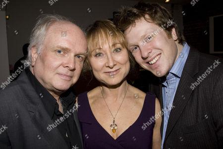 Michael Attenborough (Artistic Director, Almeida Theatre), Karen Lewis-Attenborough and Tom Attenborough