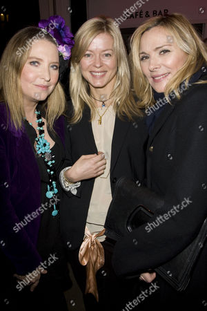 Katrine Boorman, Lady Helen Taylor and Kim Cattrall