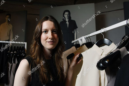 Editorial image of Fashion designer Rachael Barrett at her pop-up boutique in Princess Square, Glasgow, Scotland, Britain - 13 Oct 2011
