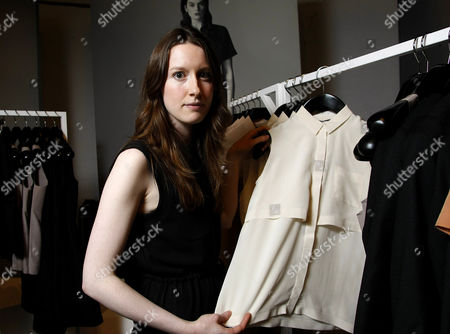 Editorial picture of Fashion designer Rachael Barrett at her pop-up boutique in Princess Square, Glasgow, Scotland, Britain - 13 Oct 2011