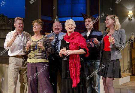 Neil McCaul, Jane Bertish, Barry McCarthy, Sharon Gless, Michael Thomson, Beth Cordingly